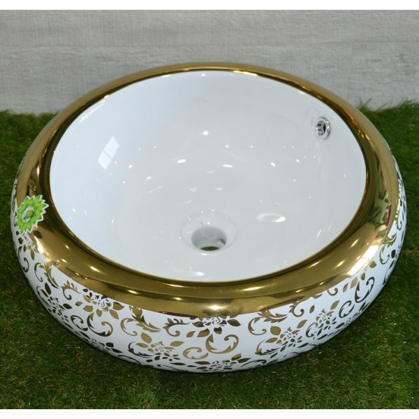 Луксозен Порцеланов умивалник - кръгъл, от Интер Керамик