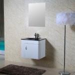 Шкаф с мивка за баня PVC