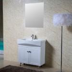 Комплект шкаф за баня с мивка Adela
