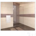 Стена за баня - параван