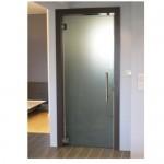 Преградна врата за баня - стъклена