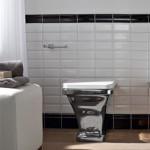 Модерна Стояща тоалетна чиния Butterfly - Scarabeo