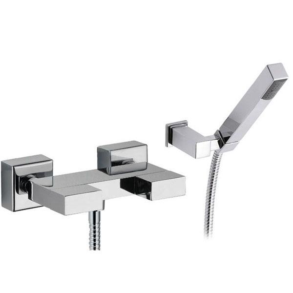 Смесител за душ кабина с аксесоари - модерен дизайн