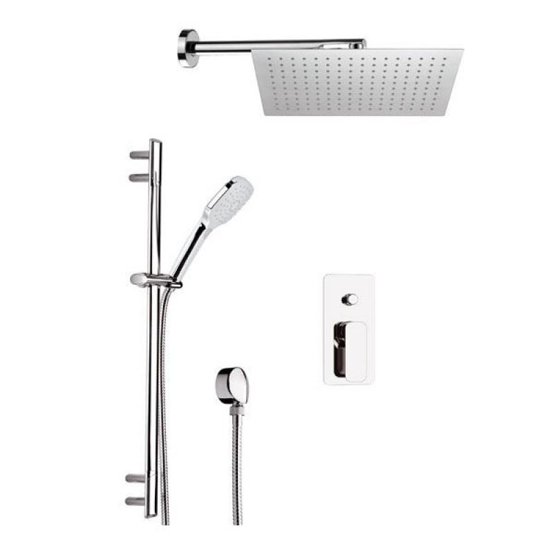 Смеситель душ Смеситель Lemark Melange LM4914CW для ванны с душем