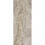 Декорни плочки за баня с размери 20 x 50 см. Кроно тапицерия кафяв