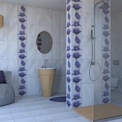 Ярки плочки за баня Леда Лале лилав от Ceramica Fiore (България)