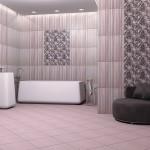 Красиви плочки за класическа баня Самба лилава от Ceramica Fiore (България)
