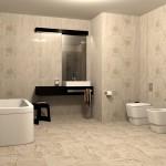 Първокласни плочки за хотелска баня Тея от Ceramica Fiore (България)