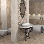 Мозаечни плочки за стилна баня Вега пано мозайка от Ceramica Fiore (България)