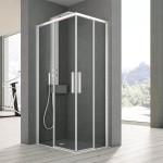 Правоъгълна душ кабина на HAFRO Geromin (Италия)