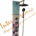 Панел с воден масаж EMONA - стъклен