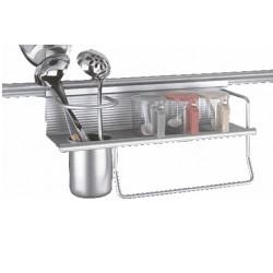 Кухненски аксесоар с лавица за окачване на стена