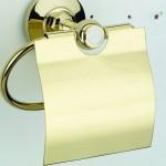 Златиста поставка за тоалетна хартия