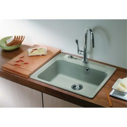 Единична мивка за вграждане от Гранит