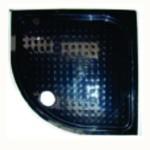 Черно корито за вграждане акрил ICS 8526B