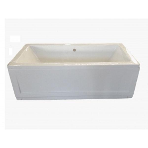 Бяла вана правоъгълна new