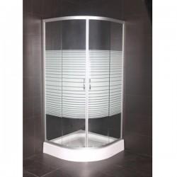 """Овална душ кабина """"ЕММА"""" ICS 585 на Интер Керамик"""