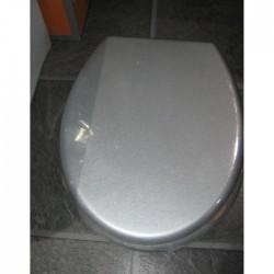 Луксозна WC седалка от MDF – сив цвят