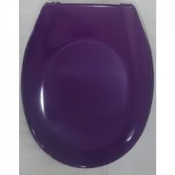 Антибактериална WC седалка от ДУРОПЛАСТ – лилав цвят