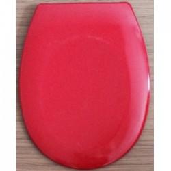 Антибактериална WC седалка от ДУРОПЛАСТ – червен цвят