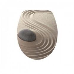 Антибактериална WC седалка от ДУРОПЛАСТ – декор пустинен пейзаж