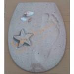Декорирана седалка и капак за WC – модел от ДУРОПЛАСТ ICST 721