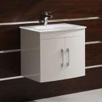 Комплект шкаф за баня с мивка Kaya