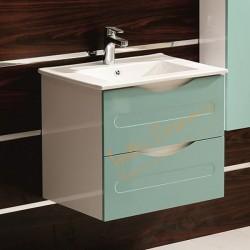 Комплект шкаф за баня с мивка Evan