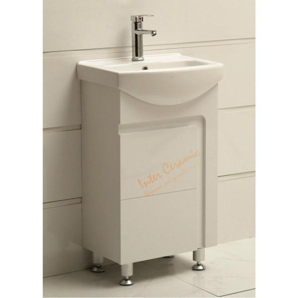 PVC Шкаф за баня – неасемблирана мебел за баня на Интер Керамик
