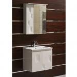Комплект шкаф за баня с мивка Dafni