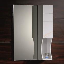 """Горен PVC шкаф за баня с огледало – модел """"Мария"""""""