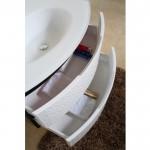 Конзолен долен шкаф за баня с вградена мивка –  ICP 8055В