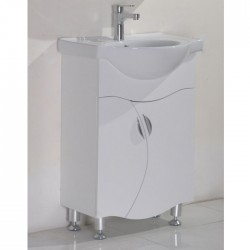 Стоящ PVC долен шкаф за баня –  ICP 8560