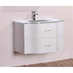 PVC долен шкаф за баня с бяла мивка –  ICP 8080W