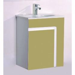 PVC долен шкаф за баня с една вратичка – ICP 6055D