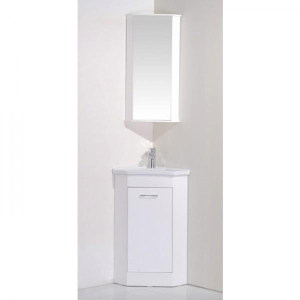 PVC долен шкаф за баня с ъглов монтаж – ICP 4040