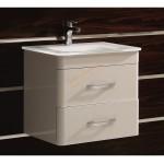 """Комплект за баня """"КИАН"""" – долен шкаф и стъклена мивка"""
