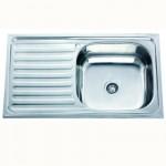Реверсна мивка за кухня – модел от алпака ICK 7540 L/R