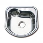 Заоблена кухненска мивка от алпака – модел ICK 4948