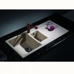 Кухненска мивка от гранит – модел за вграждане ICGS 8201