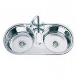 Кухненска мивка от алпака с две корита – ICK S10048A