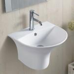 Умивалник за баня за стена – Арес-Ронда на Inter Ceramic