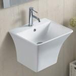 Умивалник за баня за стена – Арес-Ретанголо на Inter Ceramic