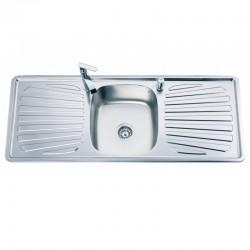 Голяма кухненска мивка от алпака – модел ICK 12050D