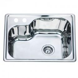 Мивка за кухня от алпака без плот – ICK D5645P