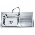 Мивка за кухня от алпака ICK D 8244F L/R