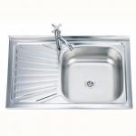 Реверсивна кухненска мивка алпака – тип БОРДОВА