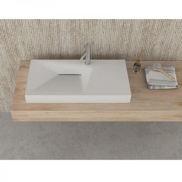Дизайнерски стенен умивалник за баня ICC 9047