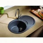 Кухненска мивка за вграждане – модел от гранит ICGS 8310