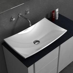 Луксозна овална мивка за плот – модел на Inter Ceramic